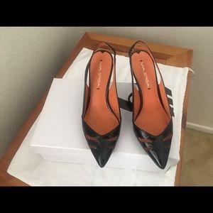 Vía Spiga Black Patent Shoes